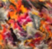 Bliss - Abstract Fluid Acryic Art - Mixed Media