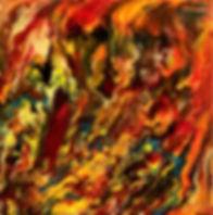 Admiration - Abstract Fluid Acryic Art - Mixed Media