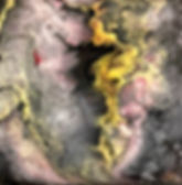 New Beginning - Abstract Fluid Acryic Art - Mixed Media