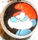 BJ113 Papa Smurf Cartoon Character Picture Body Jewelry