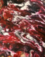 Awareness - Abstract Fluid Acryic Art - Mixed Media