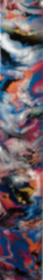 Celebration of Life - Abstract Fluid Acryic Art - Mixed Media