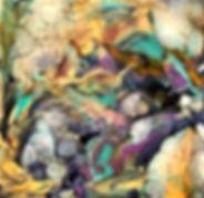 Bravery - Abstract Fluid Acryic Art - Mixed Media