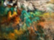 Wonder - Abstract Fluid Acryic Art - Mixed Media