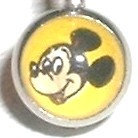 BJ99 Mickey Mouse Cartoon Character Picture Body Jewelry