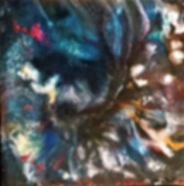 Acceptance - Abstract Fluid Acryic Art - Mixed Media