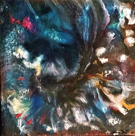 Acceptance - Abstract Fluid Acryic Art - Mixed Media