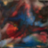 Cloud Nine - Abstract Fluid Acryic Art - Mixed Media