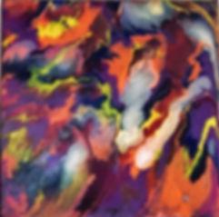 Happiness - Abstract Fluid Acryic Art - Mixed Media