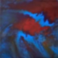 Hopefulness - Abstract Fluid Acryic Art - Mixed Media