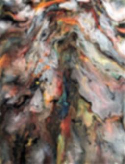 Euphoria - Abstract Fluid Acryic Art - Mixed Media