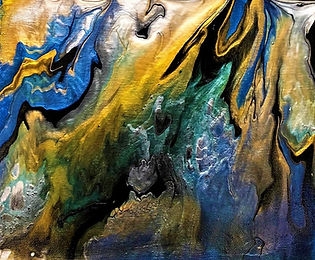 Second Chance - Abstract Fluid Acryic Art - Mixed Media