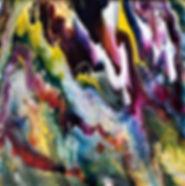 Paradise - Abstract Fluid Acryic Art - Mixed Media