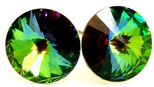 EA54 Stunning 10mm VITRAIL Swarovski Crystal  Earrings