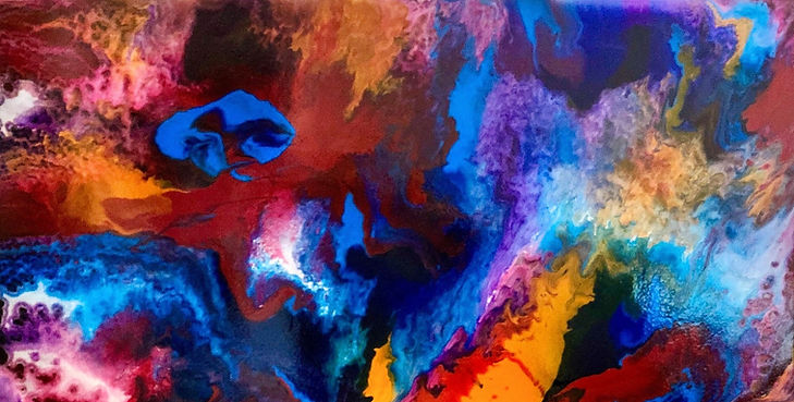Follow your Dreams - Abstract Painting - 25 x 49.jpg