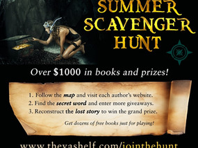 THE HUNT IS ON! GET WORD #104 & ENTER MY BOOK GIVEAWAY