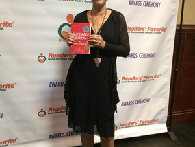 BHG Wins Readers' Favorite Award in Miami & Nicole Gets to See Salmon Rushdie at Miami Book
