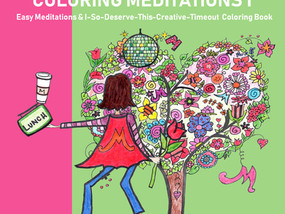 Who Is Hertha Hedwig? And What the Heck Are Coloring-Meditation Books?
