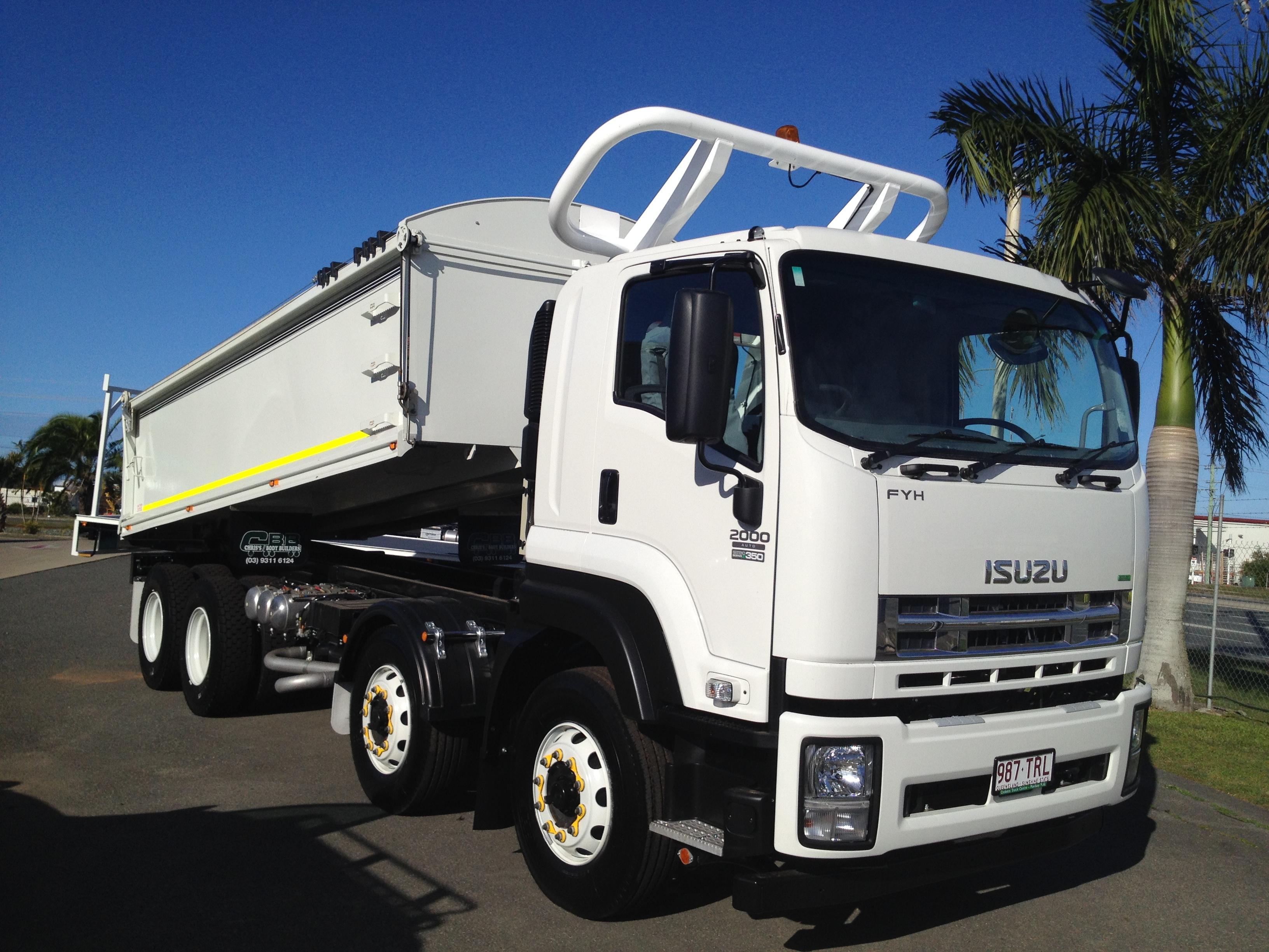 CQ Mining Hire tipper truck