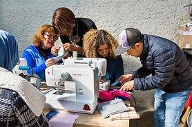 Association insertion sociale - atelier de couture