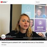 """""""INNOVATE! pour la solidarité - Tissu Solidaire"""" 2019"""