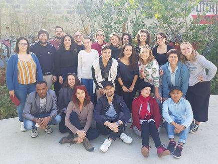 Equipe de bénévoles Weavers à Lyon