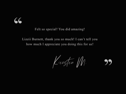 Kiersten M - Testimonial