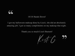 Kristi G - Testimonial