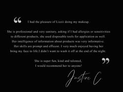 Justine C - Testimonial