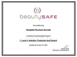 Beauty Safe Cert