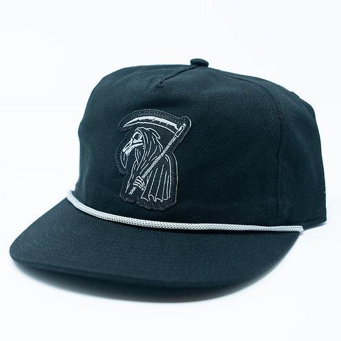 HAT REAPER BLACK / GREY ROPE