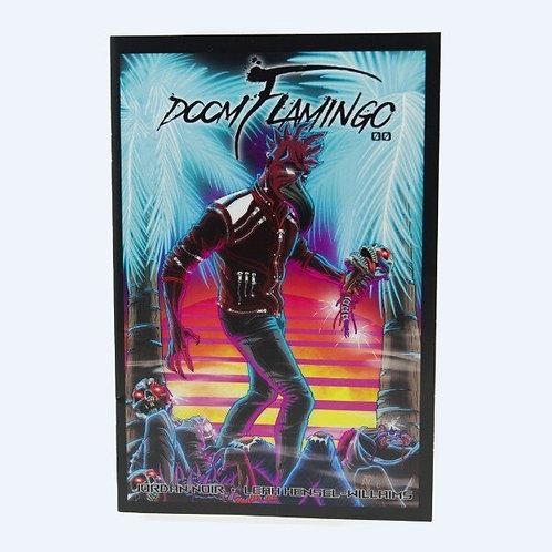 COMIC BOOK - DOOM FLAMINGO #00 FIRST EDITION
