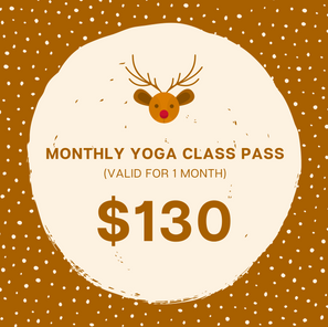 Monthly Yoga Class Pass