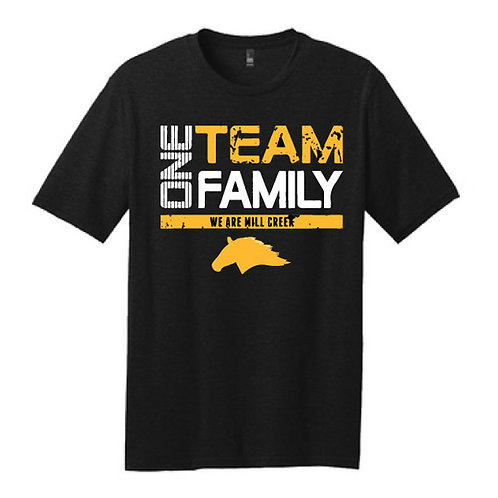 Soft t-shirt - One Team One Family