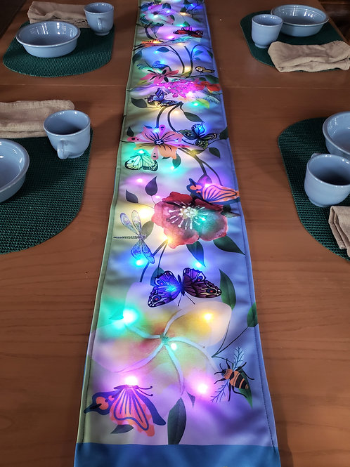 Garden Party Light UP Table Runner