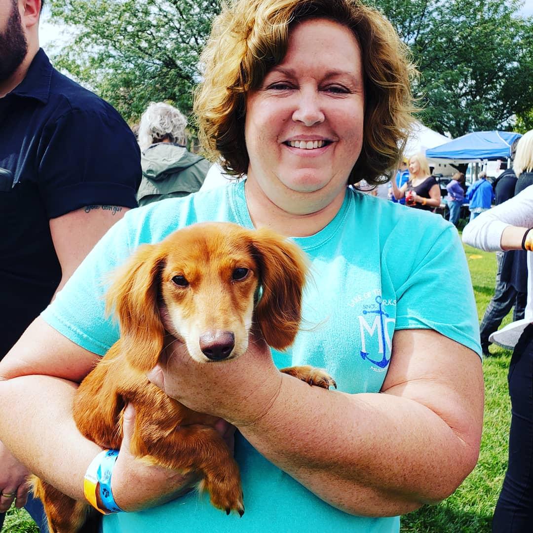 A Weiner Dog Contestant