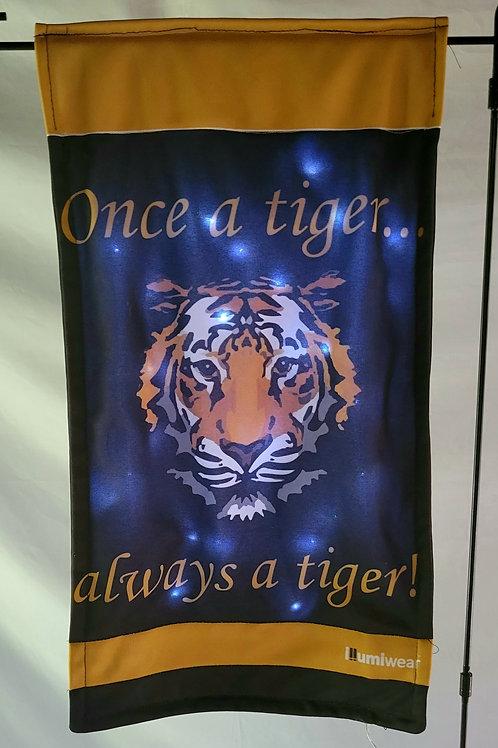 Once A Tiger Garden Flag