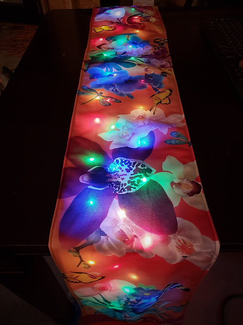 Botanical Garden Light UP Table Runner