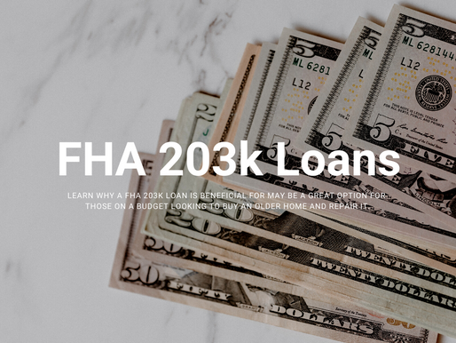 FHA 203k Loans - Financing a property that requires repairs on a budget