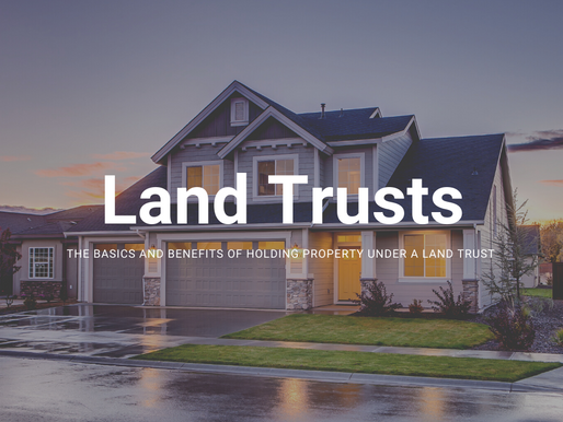 Attention High Income Earners, Physicians, & Athletes - Learn Why a Land Trust Should Matter to You