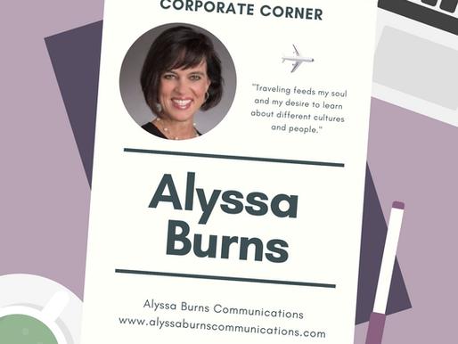 Corporate Corner: Alyssa Burns Communications