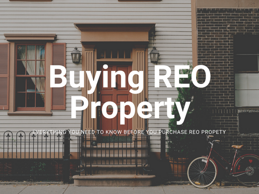 Thinking About Buying REO Property?   Read This First!