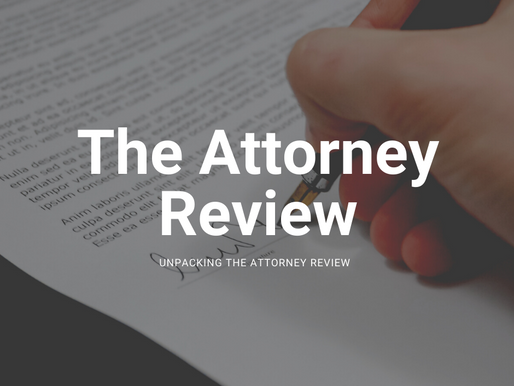 Unpacking Attorney Review Period