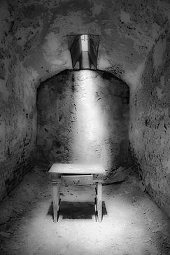 Table in Cell, Eastern State Penitentiar