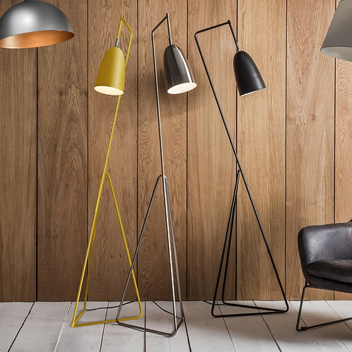 Vallen Floor Lamp - Black