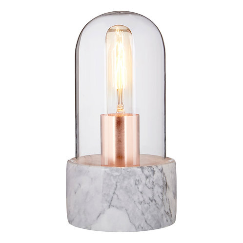 Lamonte Grey Marble Lamp