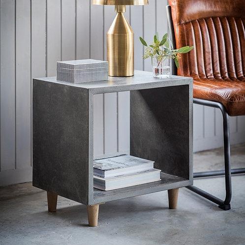 Bergen Cube Lamp Table
