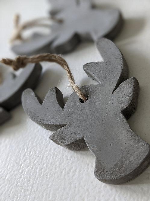 Concrete Reindeer Decs