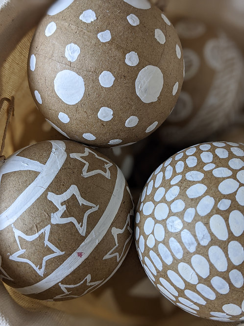 Assorted Paper Baubles