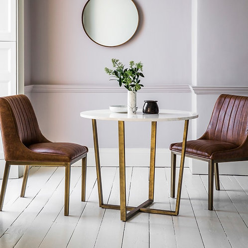 Cleo Round Marble Table